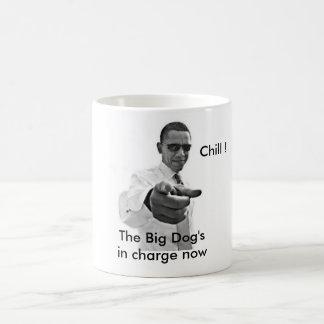 Caneca De Café Inauguração branca fria da casa de Barack Obama