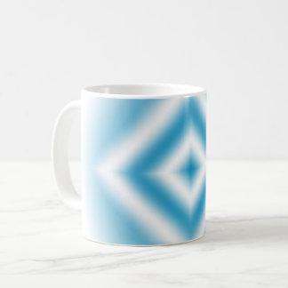 Caneca De Café inclinação azul do diamante do Personalizar-céu