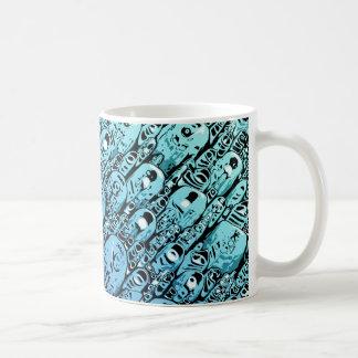 Caneca De Café Inclinação de formas abstratas