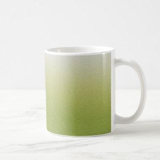 Caneca De Café Inclinação verde