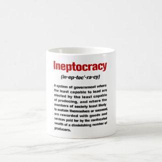 Caneca De Café Ineptocracy
