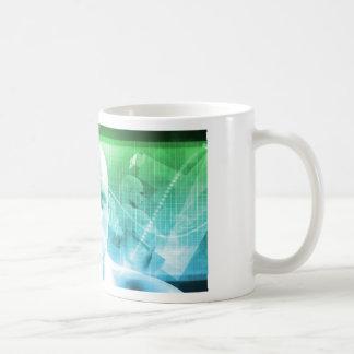 Caneca De Café Informação dos dispositivos de Digitas da