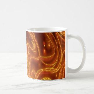 Caneca De Café Inseto de fogo