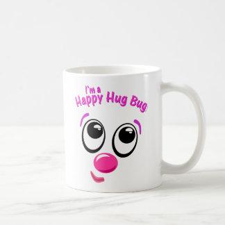 Caneca De Café Inseto feliz do abraço