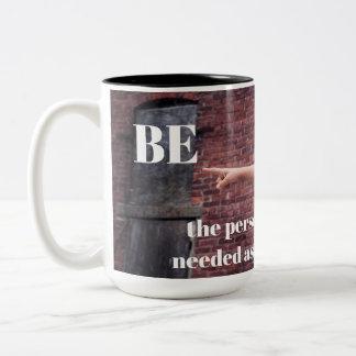 Caneca de café inspirada