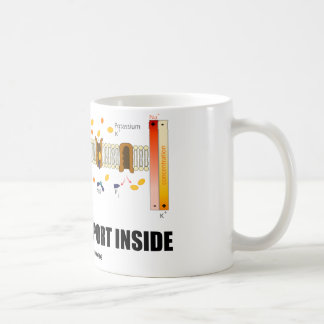 Caneca De Café Interior do transporte ativo (bomba do