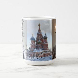Caneca De Café Inverno em Moscovo