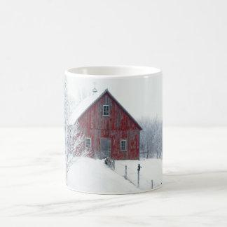 Caneca De Café Inverno Frost com celeiro