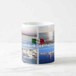 Caneca De Café Italia - Apulia - Gallipoli - Salento -
