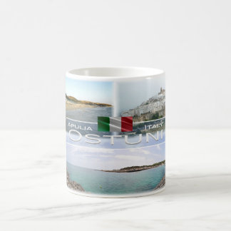 Caneca De Café Italia - Apulia - Ostuni - Salento -