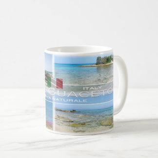 Caneca De Café Italia - Apulia - reserva natural de Torre Guaceto