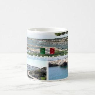 Caneca De Café Italia - Apulia - Santa Maria di Leuca -