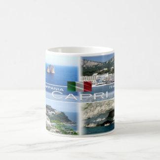 Caneca De Café Italia # Campania - Capri -