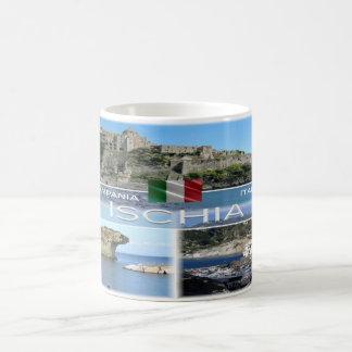 Caneca De Café Italia # Campania - ísquios -