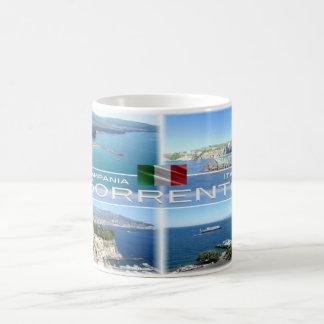 Caneca De Café Italia # Campania - Sorrento -