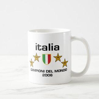 Caneca De Café Italia Campioni Del Mondo 2006 - Scudo