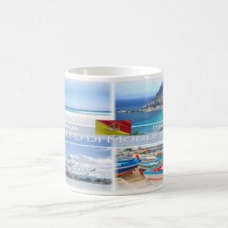Caneca De Café Italia - Sicília - golfo de Mondello -