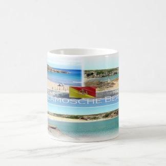 Caneca De Café Italia - Sicília - praia de Calamosche -