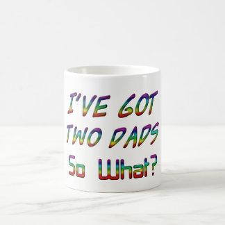 Caneca De Café I've obteve dois pais, assim o que? Tipografia