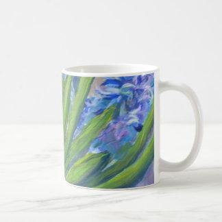 Caneca De Café Jacintos azuis