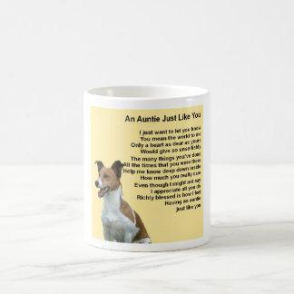 Caneca De Café Jack Russell - Auntie Poema
