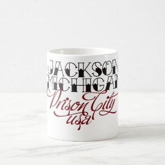 Caneca De Café Jackson Michigan