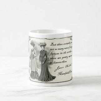 Caneca De Café Jane Austen: Mulheres bonito