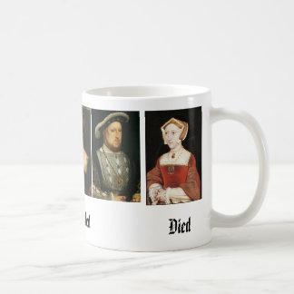Caneca De Café Jane Seymour, Catarina de Aragão, Anne Boleyn,…
