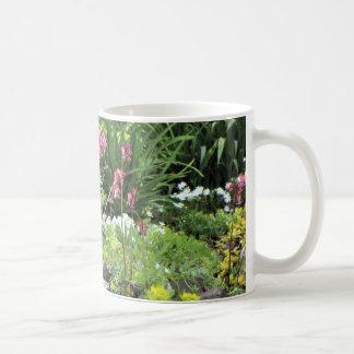 Caneca De Café Jardim da casa de campo do primavera