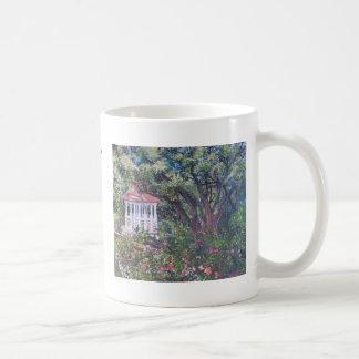 Caneca De Café Jardim de rosas do Mabel Davis de Zilker, onde um