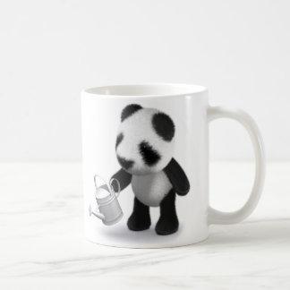 Caneca De Café jardinagem da panda do bebê 3d