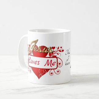 Caneca De Café Jesus ama-me, este que eu sei…