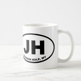 Caneca De Café JH Jackson Hole Wyoming