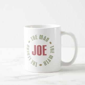 Caneca De Café Joe o homem o mito os presentes das camisetas da