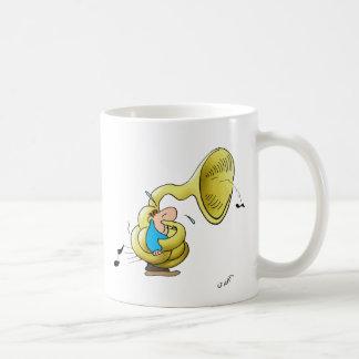 Caneca De Café Jogador da tuba