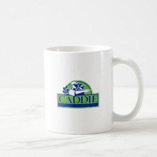 Caneca De Café Jogador de golfe profissional e Caddie retros