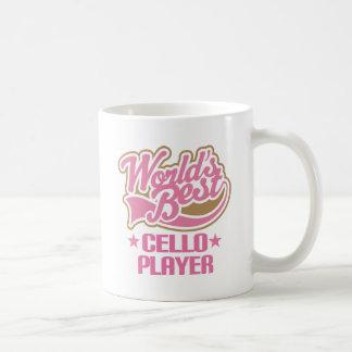 Caneca De Café Jogador do violoncelo dos mundos o melhor