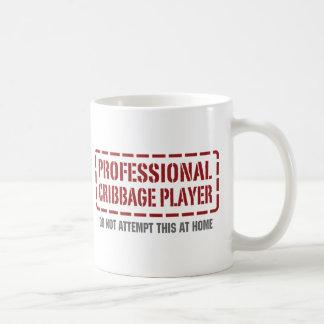 Caneca De Café Jogador profissional de Cribbage
