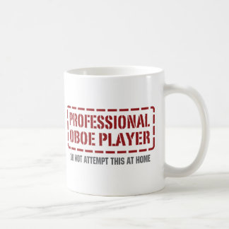 Caneca De Café Jogador profissional de Oboe