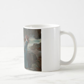 Caneca De Café John William Waterhouse - Miranda - a tempestade