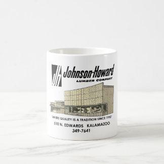 Caneca De Café Johnson Howard Madeira serrada Empresa, café de