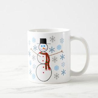 Caneca De Café Jonathan P. Boneco de neve - copo de café