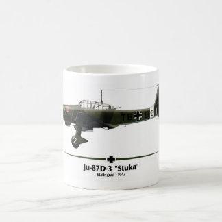 """Caneca De Café Ju-87 """"Stuka"""" - Luftwaffe - Batalha de Stalingrado"""