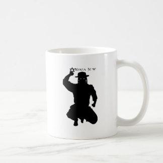 Caneca De Café Judeu de Ninja