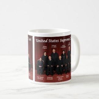 Caneca De Café Juizes do Tribunal Supremos & selo dos Estados