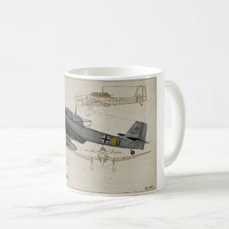 Caneca De Café Junkers-Ju88-Stuka
