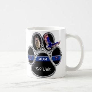 """Caneca De Café K-9 unidade """"mamã fina de Blue Line """""""