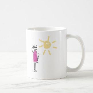 Caneca De Café Keep genial. O sol parece!