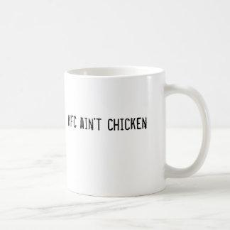 Caneca De Café KFC não é galinha