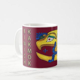 CANECA DE CAFÉ KINICH KAKMOK- GOLD COAST MAIA VERMELHO DA